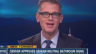Denver City Council approves gender-neutral single-stall bathroom code changes - Video
