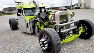 Meet Overkill - The Ultimate Peterbilt RatRod | RIDICULOUS RIDES