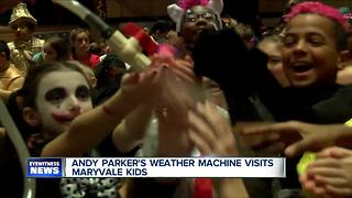 Andy Parker's Weather Machine visits Maryvale Intermediate - Video