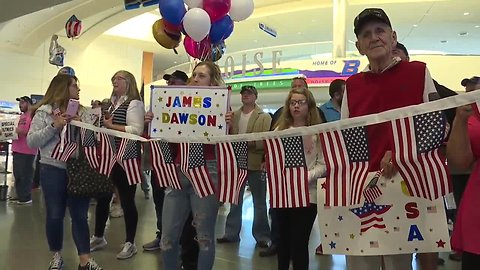 Special Olympic athletes return home from the world games gold medals