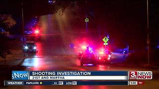 Police investigate shooting near 21st and Martha - Video
