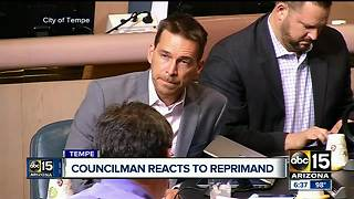 Tempe council member given formal reprimand after calling resident a