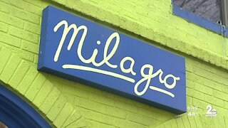 Milagro on West 36th Street in Baltimore is open for business
