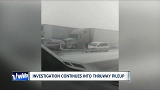 Investigation continues into deadly Thruway pileup - Video
