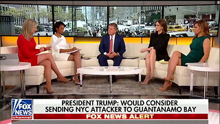 Trump on NYC Terror Attack Suspect: 'Send Him to GITMO ... I Would Certainly Consider That' 2 - Video