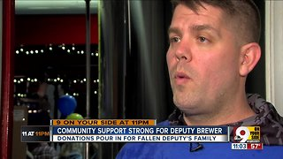 Community continues to support Brewer family