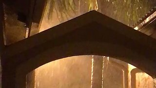 Heavy Rain in Weston as Hurricane Irma Nears Florida - Video