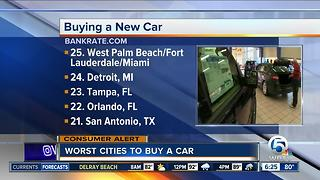 South Florida worst for car affordability - Video