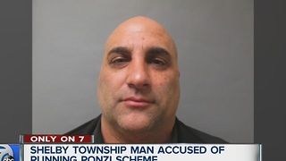 Man accused of running a Ponzi scheme - Video