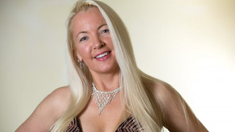 Glam mum kick starts beauty pageant success at 50 – and puts youthful looks down to being single for 14 years