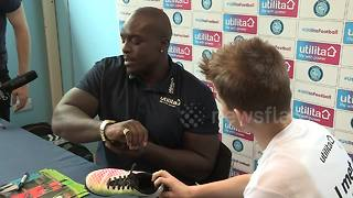 Ferdinand called out for boxing match by soccer's strongest player Akinfenwa - Video