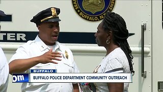 Buffalo Police Department hosts cookout for community outreach