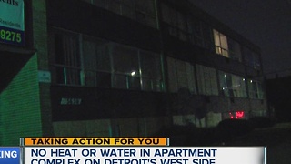 Detroit to address living conditions at apartment complex