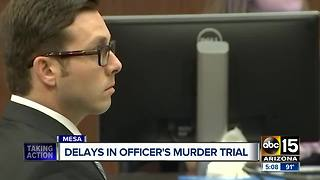 Murder trial underway for ex-Mesa cop - Video