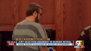 Jury selection underway in murder retrial