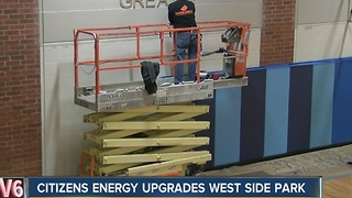 Citizens Energy upgrades west side park - Video