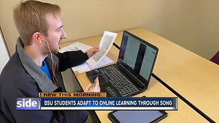 BSU Students adapt to online learning through song