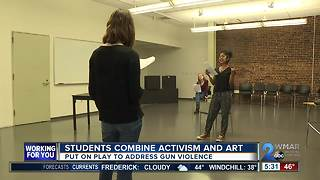 Baltimore school combines art and activism to address gun violence - Video