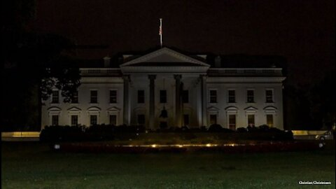 Does The White House Really Go Dark at 11PM Every Night??? --- Its CONFIRMED!!!