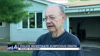 Police continue to investigate suspicious death in Mount Pleasant - Video