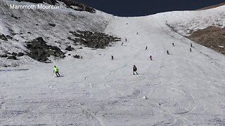 Mammoth Mountain closes after 261 day season