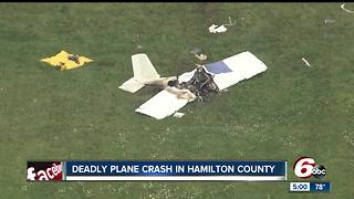 One killed in Fishers plane crash - Video