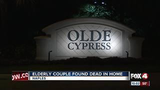 Elderly Couple Found Dead in Home - Video