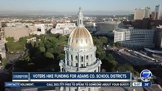 Voters hike funding for Adams County School Districts