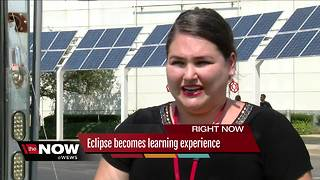 Solar Eclipse Day at MC2 Stem School! - Video