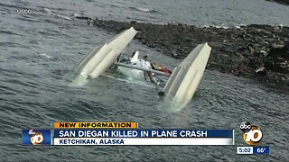 San Diego man killed in Alaska plane crash