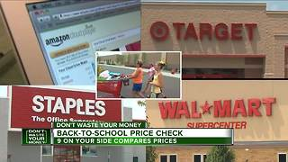 Which store really has the lowest back-to-school prices? - Video