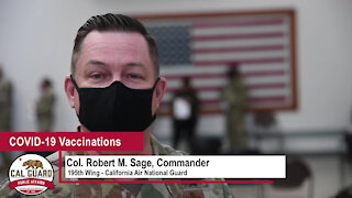 195th Wing COVID-19 Vaccination Message