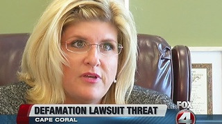 Cape Coral mayor threatens council member with lawsuit - Video
