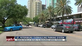 St. Petersburg attempting to fix parking jam with new prices at meters and garages - Video