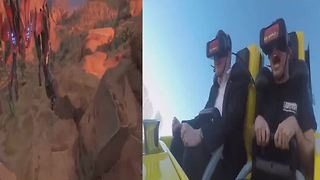 New virtual reality coaster opens at New York-New York hotel-casino - Video