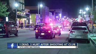 Triple shooting outside Milwaukee bar leaves 1 dead, 2 injured - Video
