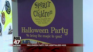 Spirit Halloween, Sparrow make hospital stay less scary for kids