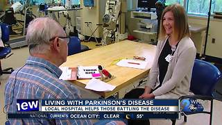 Baltimore hospital program helps people battling with Parkinson's disease - Video