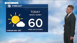 Metro Detroit Forecast: Warm up coming