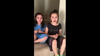 Kids have hilarious reaction to finding out their mum is pregnant - Video