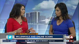 Millennials and online scams - Video
