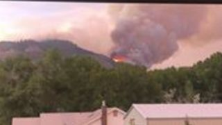 Homes Evacuated in Hermosa as 416 Fire Grows to 5,100 Acres