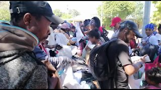 South Africa - Cape Town - World Homeless Day (Video) (nru)