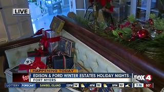 Edison and Ford Holiday Nights return in Fort Myers