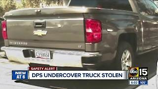 DPS undercover truck stolen with firearms inside - Video