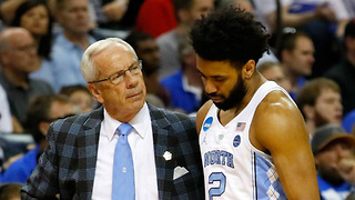 UNC Star Joel Berry II BREAKS His Hand Playing Video Games - Video