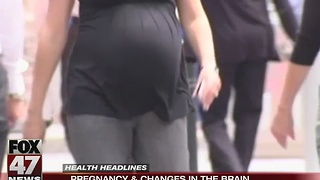 Research shows pregnancy leads to changes in brain - Video