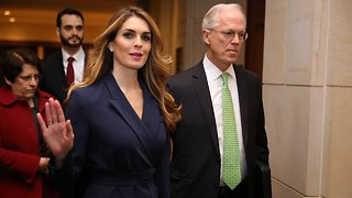 Hope Hicks Reportedly Told Lawmakers Her Email Account Was Hacked - Video