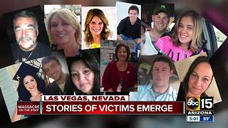 Victims remembered after Las Vegas massacre - Video