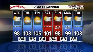 13 First Alert Weather for July 26 2017 - Video